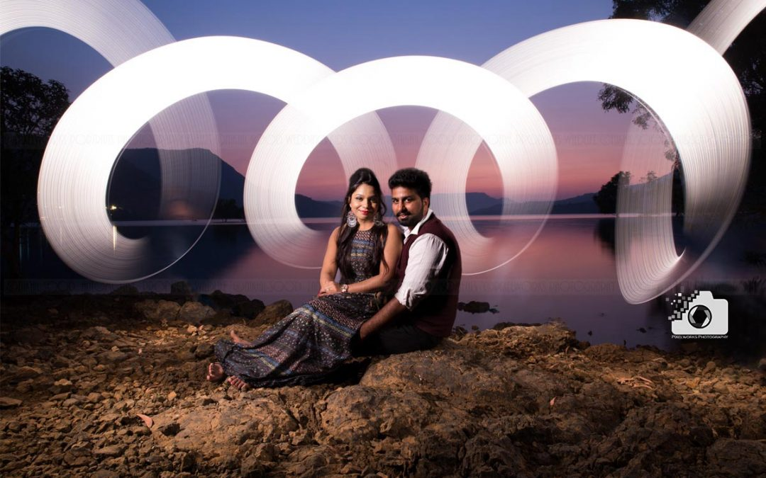 The uniqueness of Indian Pre wedding shoot!