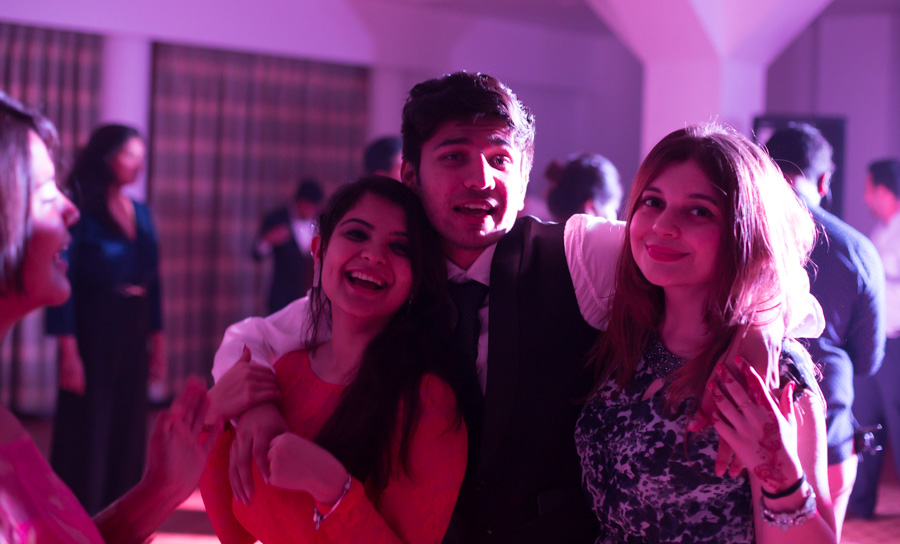 Sangeet and Cocktail party