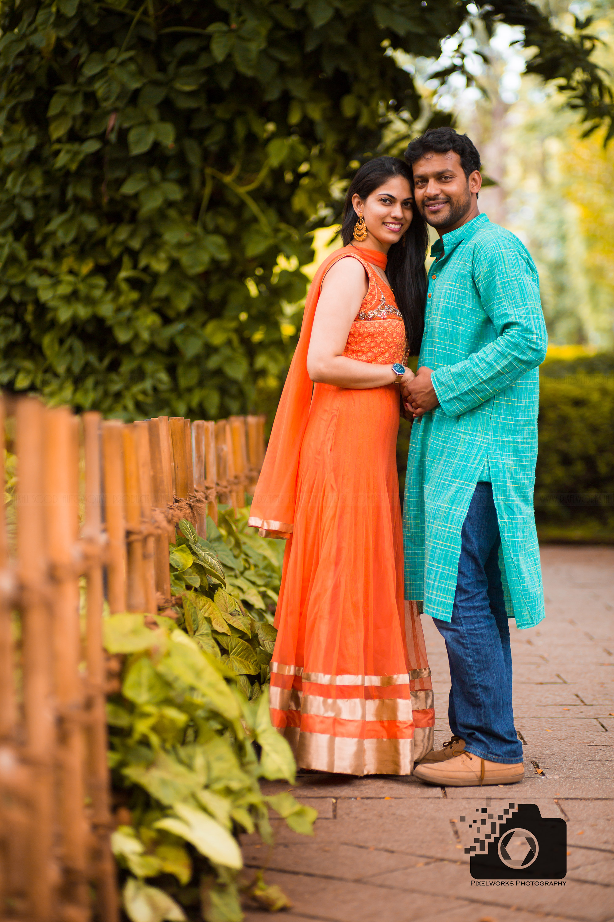 Pre wedding shoot dresses Anarkali