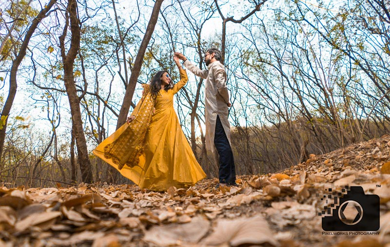Forest Pre wedding shoot – Know it's essence !