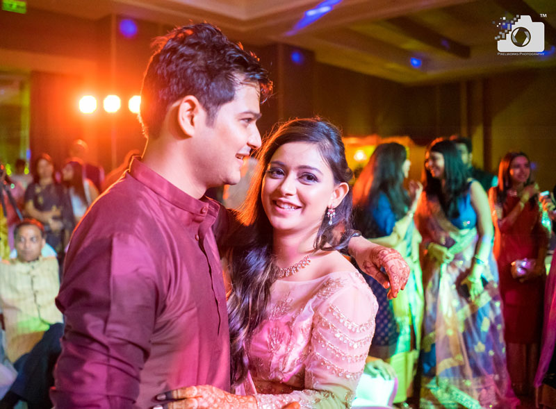 Performances and Masti – Sangeet at Hyatt